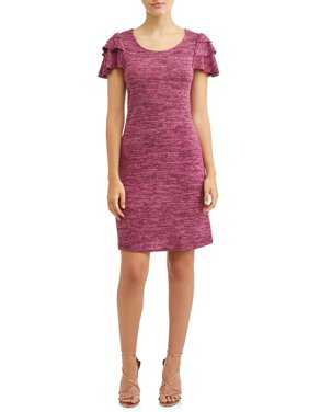 7dc81ffcdcc8 Product Image Women s Ruffled Sleeve Midi Dress
