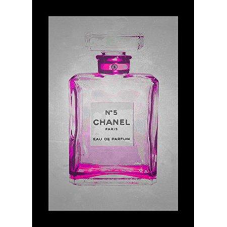 buyartforless Chanel No. 5 Chick Wall Art