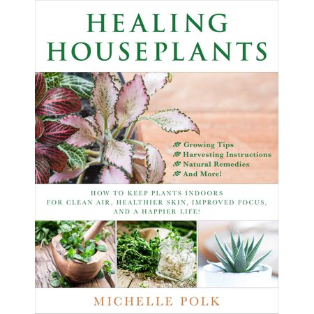 Healing Houseplants : How to Keep Plants Indoors for Clean Air, Healthier Skin, Improved Focus, and a Happier