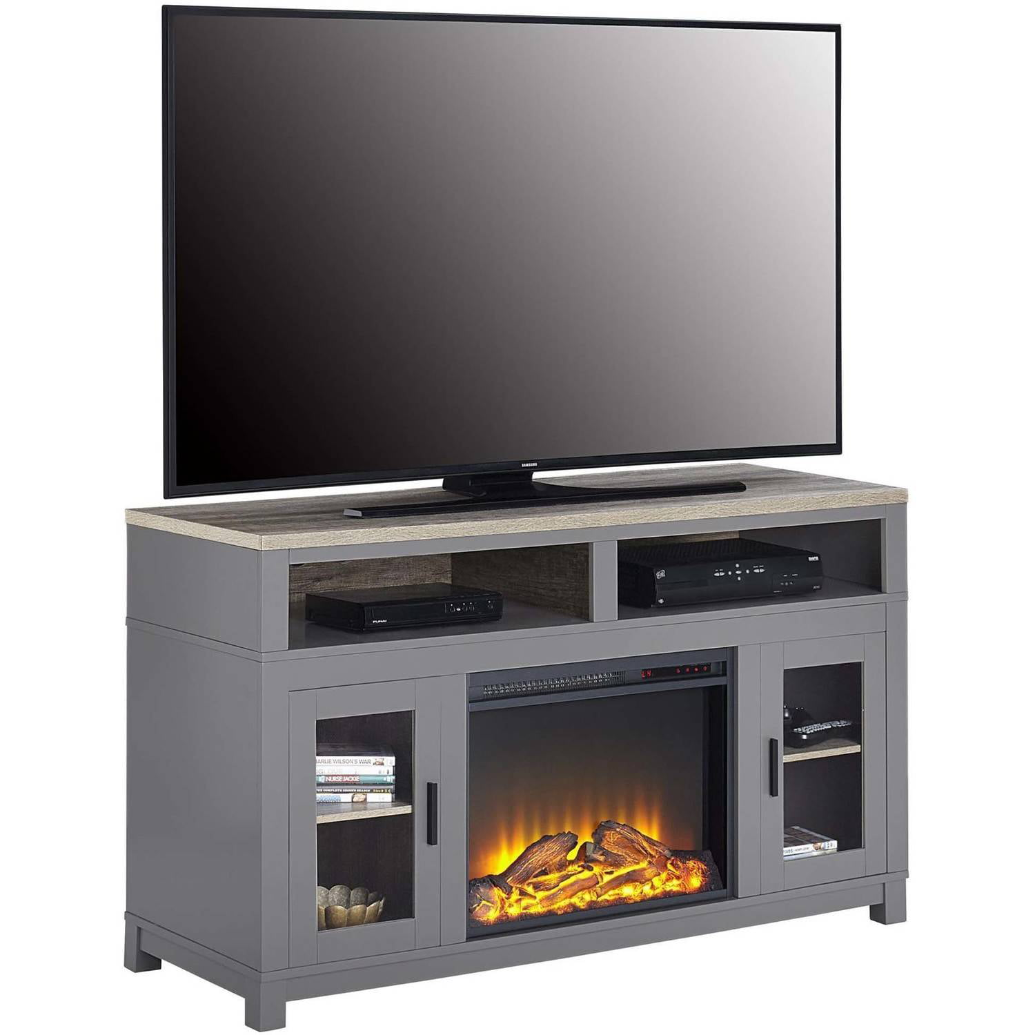media console fireplaces tv stands walmart com