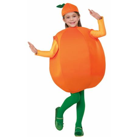 Orange Fruit Child Costume One Size Fits - Kids Fruit Costumes