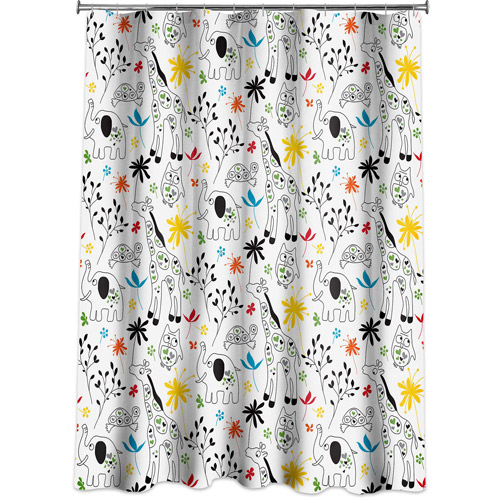 Allure Zoological Shower Curtain