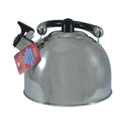 Bene Casa BC-84955 stainless steel tea kettle, 2-quart.