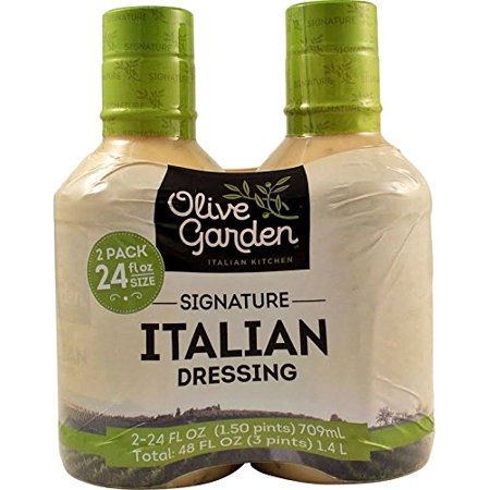 Olive Garden Red Lobster - Olive Garden Italian Dressing 2/24 Ounce Bottles