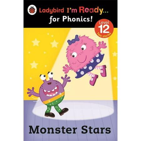 - Ladybird I'm Ready for Phonics Monster Stars Level 12