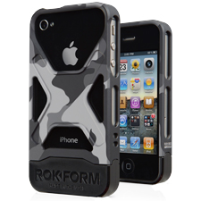 Rokform -  Rokbed Fuzion Case for Apple iPhone 4/4s - Night Camo