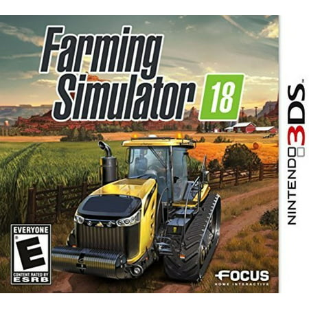 Farming Simulator 18, Maximum Games, Nintendo 3DS, 854952003646