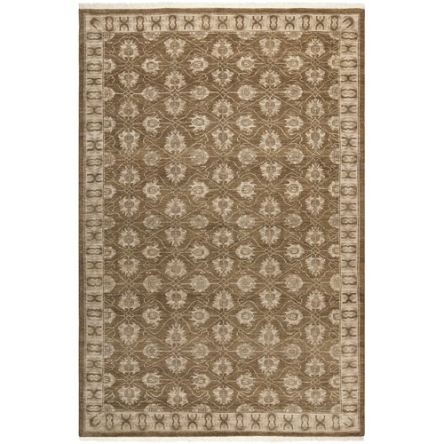 Safavieh Oushak Alicante Hand Knotted Wool Brown Area Rug