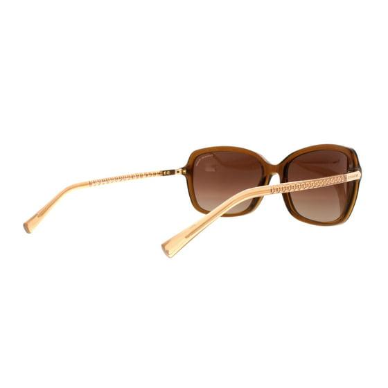 93ea218867be0 Coach - COACH Sunglasses HC 8152 532813 Brown Glitter Crystal Brown 57MM -  Walmart.com