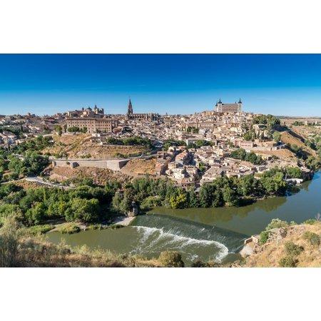 LAMINATED POSTER Travel City Spain Landscape Historic River Toledo Poster Print 24 x 36 - Party City Toledo