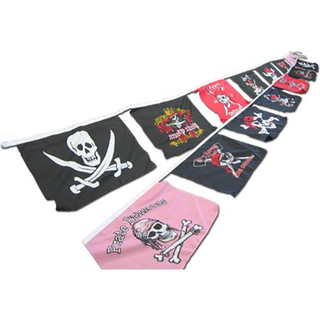 Pirate Party Decorations (25' Pirate String Banner)