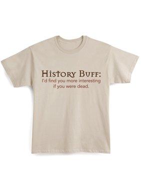 8d14b948e9664 Product Image Unisex Adult History Buff T-Shirt