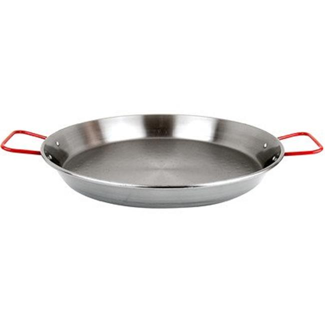 15 in. Carbon Steel Paella Pan - 8 Servings - image 1 de 1