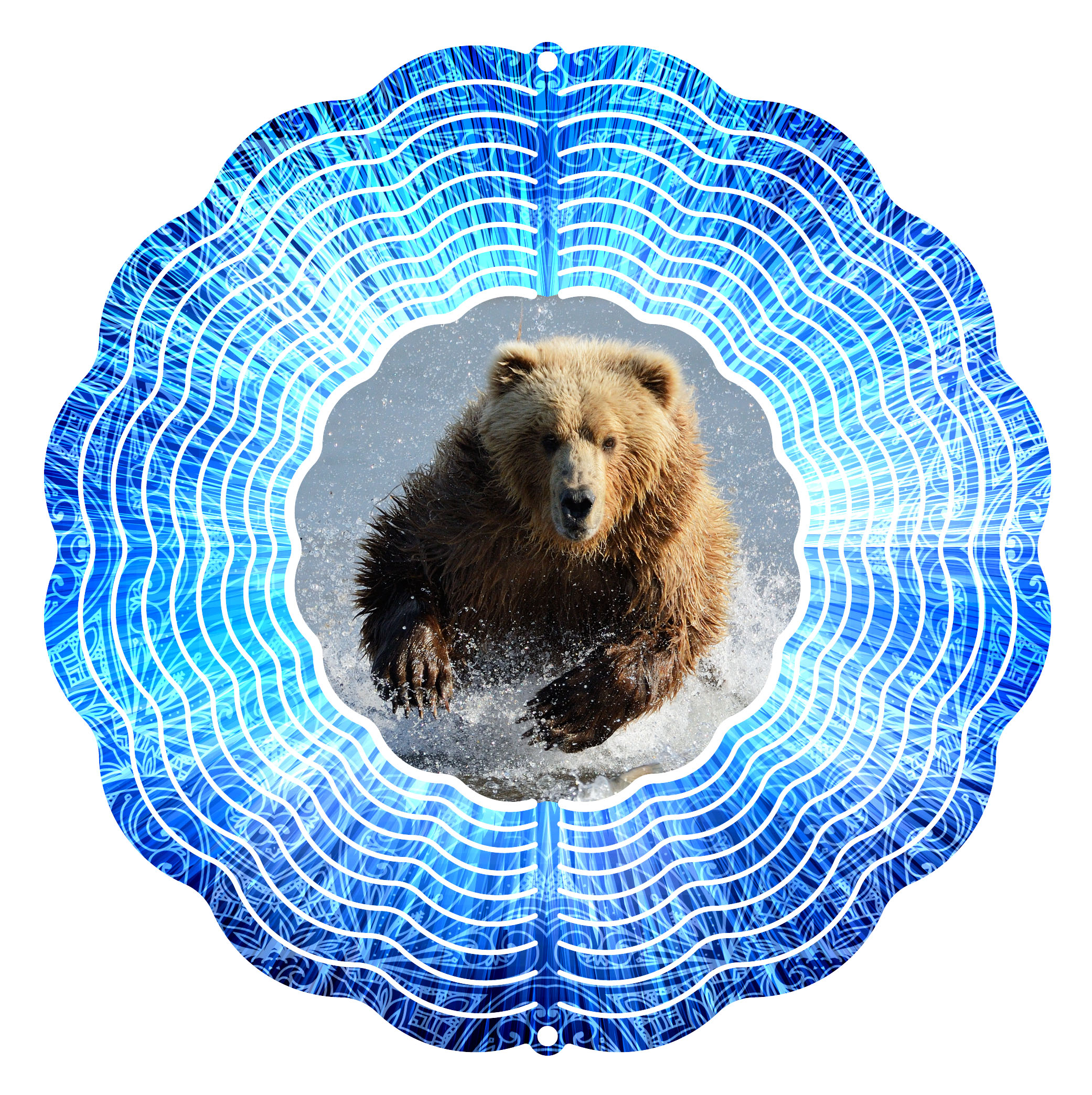 Next Innovations 10 in. Grizzly Wind Spinner by Next Innovations