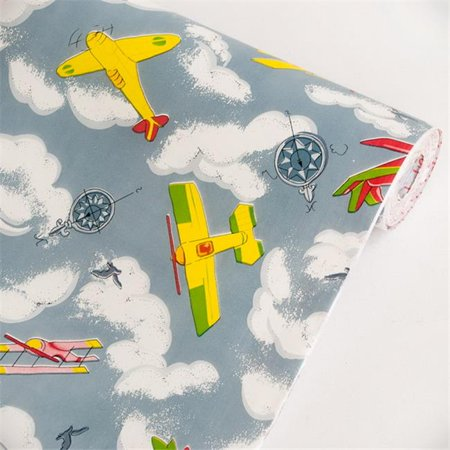 Flying Fun - Self-Adhesive Wallpaper Home Decor  Multicolor - image 1 de 1