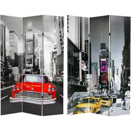 6 39 Tall New York City Taxi Double Sided Room Divider