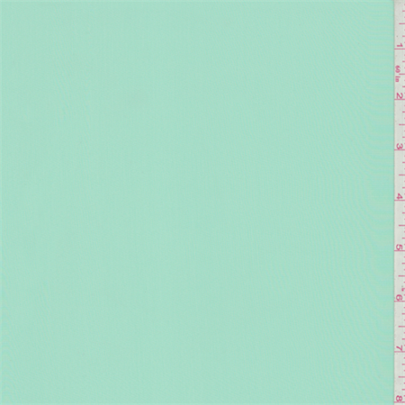 Mint Green Crepe de Chine, Fabric Sold By the Yard
