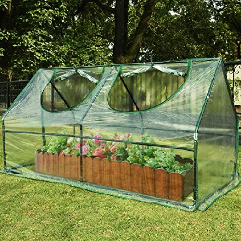 "Quictent 100% Waterproof UV protected?Reinforced Mini Greenhouse 71""WX 36""D X... by"