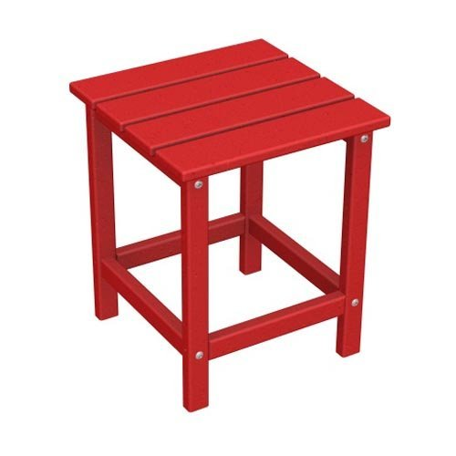 POLYWOOD® Long Island Recycled Plastic 18 in. Outdoor Side Table