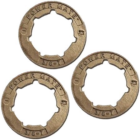 Oregon (3 Pack) 11892 0.325 in. SM7 Power Mate Small Rim Sprocket # 11892-3PK Includes (3) 11892 SprocketsNew, Bulk PackedGenuine OEM Replacement Part # 11892-3PKConsult owners manual for proper part number identification and proper installationPlease refer to list for compatibilityCompatible with the following: Shindaiwa: 377 Chain, 415 Chain, 450 Chain, 446S Chain, 488 Chain, 490 EPA2 Chain, 502S EPA2 Chain, Echo, CS-3900 Chain, CS-4000 Chain, CS-440 Chain, CS-440 Chain, CS-440 Chain, CS-440 Chain, CS-440 Chain, CS-4400 Chain, CS-4400 Chain, CS-4600 Chain, CS-4600 Chain, CS-4600 Chain, CS-5000 Chain, CS-5000 Chain, CS-510 Chain, CS-510 Chain, CS-520 Chain, CS-520 Chain, CS-520 Chain, CS-520 Chain, CS-520 Chain, CS-520 Chain, CS-530 Chain, CS-530 Chain, CS-530 Chain, CS-5500 Chain, CS-5500 Chain, CS-450 45cc Chain, CS-500P 50.2cc, CS-550P 54.1cc Chainsaw
