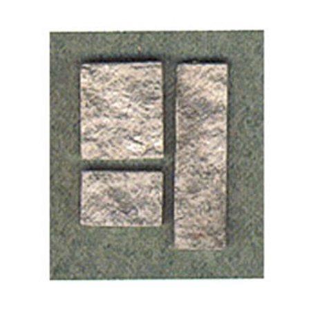 Dollhouse Cut Stone Veneer Gray