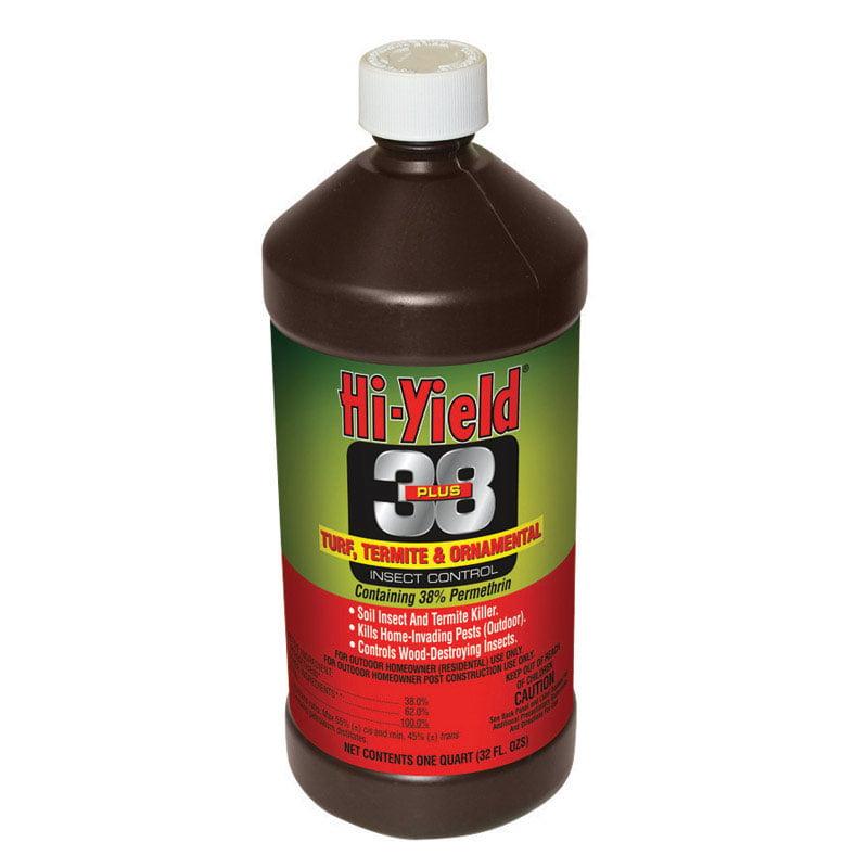 Hi Yield 38 Plus Turf Termite And Ornamental Insect Killer 32 Oz Case Of 1 Walmart Com Walmart Com