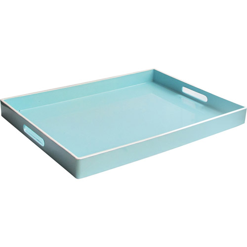 Image of Accents by Jay Rectangle Tray with Handles