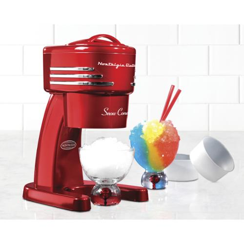 Nostalgia RISM900RETRORED Electric Shaved Ice Machine