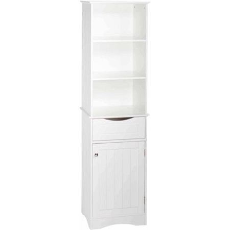 RiverRidge Ashland Collection Tall Cabinet - White