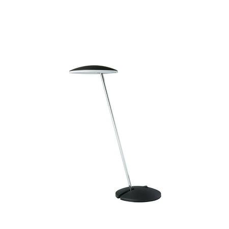 """14.5"""" in MATTE BLACK LED PENDULUM TABLE LAMP thumbnail"""