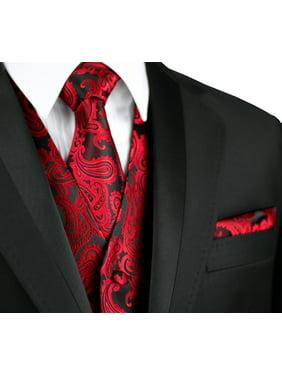 eb62b2b70d5e Product Image Italian Design, Men's Formal Tuxedo Vest, Tie & Hankie Set  for Prom, Wedding