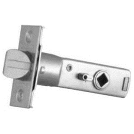 Baldwin 5513.030.P Tubular Privacy Lever Latch, Polished Brass - Lacquered (Exit Lock Tubular Lever)