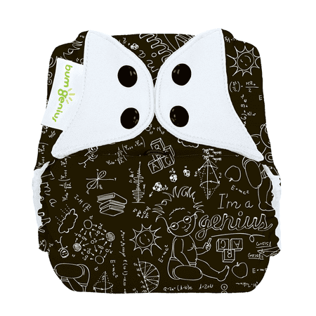 Oh Katy Cloth Diaper (bumGenius Freetime All-In-One One-Size Stay-Dry Cloth Diaper - Albert (fits babies 8-35)