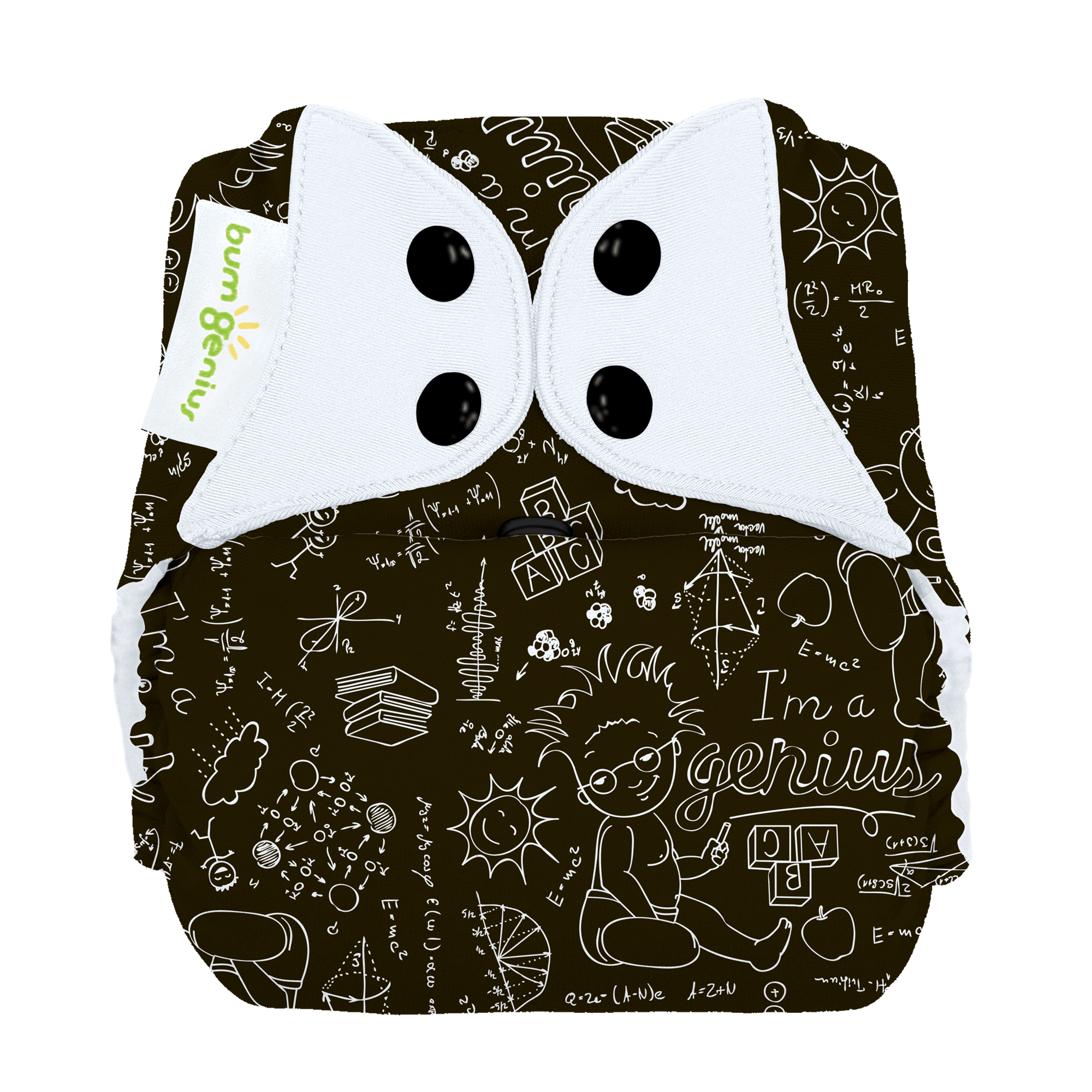 bumGenius Freetime All-In-One One-Size Stay-Dry Cloth Diaper - Albert (fits babies 8-35 lbs)