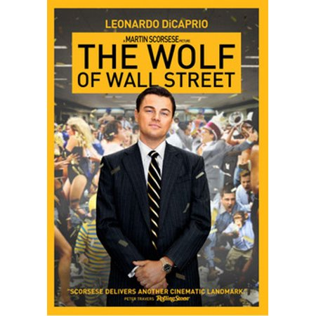 - The Wolf of Wall Street (DVD)