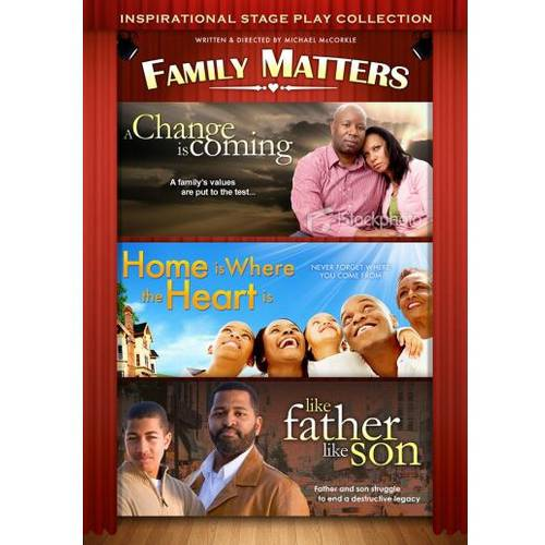 Family Matters: Inspirational Stage Play Collection - A Change Is Coming / Home Is Where The Heart Is / Like Father Like Son - Halloween Is Coming Lyrics