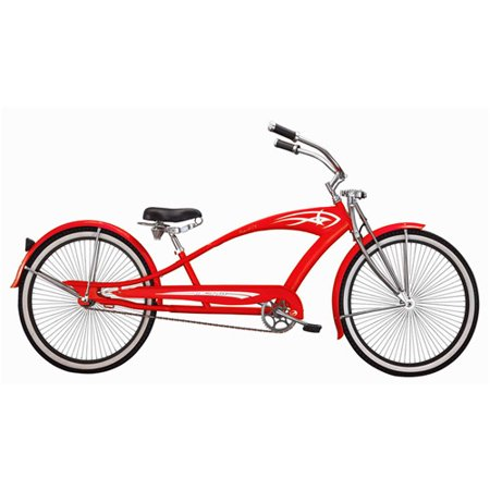 micargi 26 puma gts men 39 s beach cruiser bike red. Black Bedroom Furniture Sets. Home Design Ideas