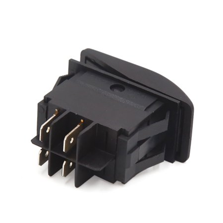 16A 250VAC 4 Pin Red LED Light Bar Carling Auto Car Fog Lamp Switch Push Button - image 1 de 3