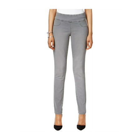 Curvy Womem (Style&co. Womens Curvy Jeggings whispergrey P/28 -)