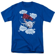 Airplane Picked The Wrong Day Mens Short Sleeve Shirt