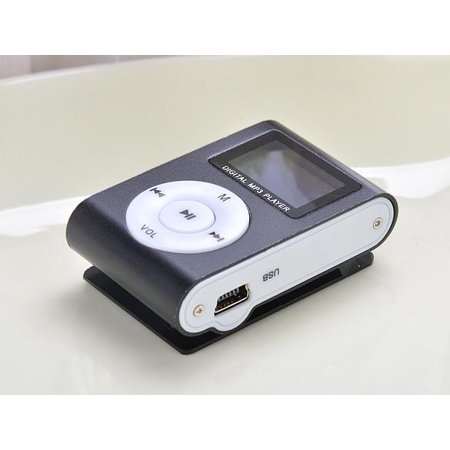 LCD Screen  MP3 Music Player Mini Clip Support  for 32GB Micro SD Rechargeable USB 2.0/1.1](cowon i10 32gb mp3 player)