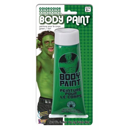 Washable Costume Body Paint 3.4oz Green