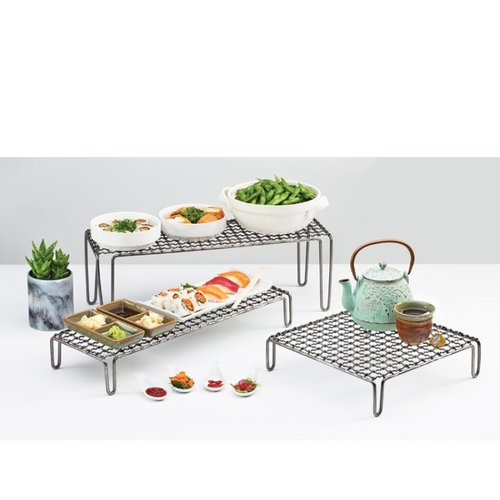 Cal-Mil Rectangle Wire Mesh Stand