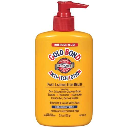 Gold Bond Intensive Relief Medicated Anti-Itch Lotion, 5.5 oz