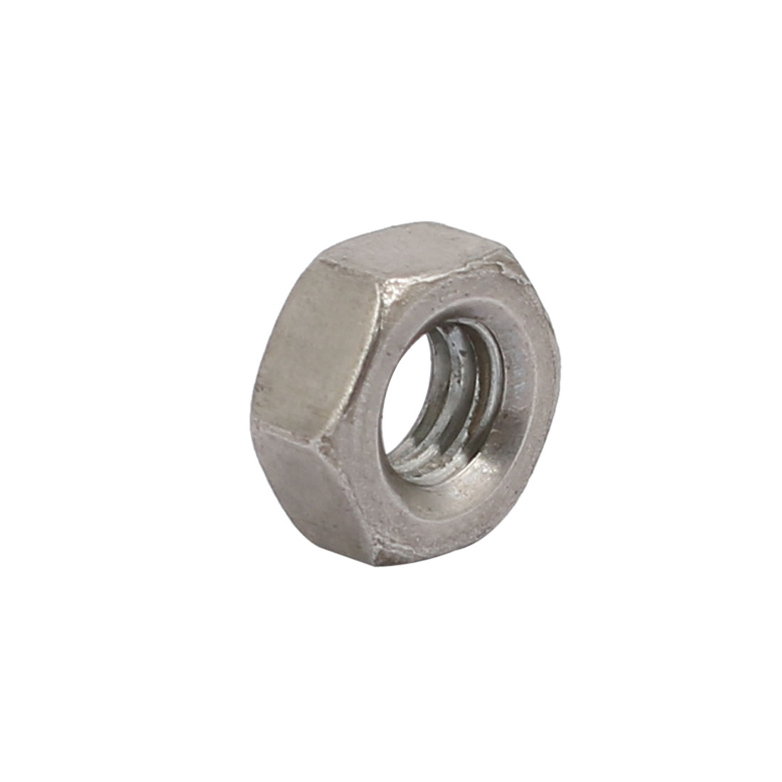 "Unique Bargains 20pcs 5/32""-32 BSW Thread 304 Stainless Steel Hex Nut Fastener Silver Tone - image 1 de 3"