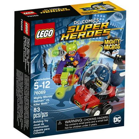 Lego Super Heroes Mighty Micros  Batman Vs Killer Moth 76069
