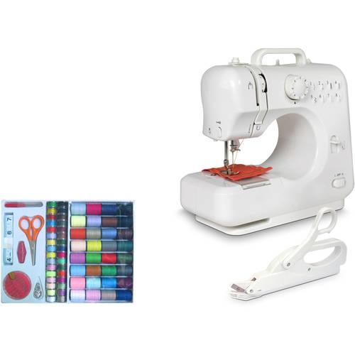 Michley Desktop Sewing Machine & Accessories 3-Piece Value Bundle