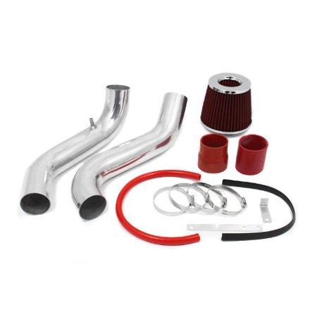 1994 1995 1996 1997 1998 1999 2000 2001 Acura Integra GSR/ Type-R Cold Air Intake System with Filter - Red ()