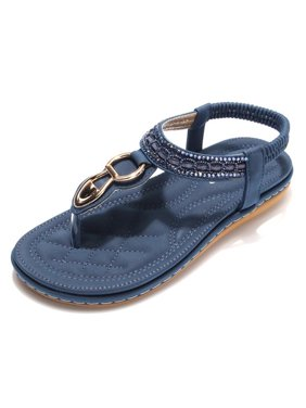 b5a3723990f2d9 Product Image Meigar Women Summer Bohemia Slippers Flip Flops Lady Flat Sandals  Beach Thong Shoes