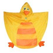 Stephen Joseph  Kids Duck Shaped Rain Poncho, Duck